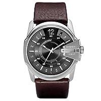 Reloj Diesel DZ1206 de cuarzo para hombre con correa de piel, color marrón de Diesel