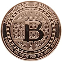 Moneda de cobre de pureza 999/1000 - «The Guardian Bitcoin» - 28,35 g