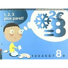 1, 2, 3 Pica paret - Quadern de Matemàtiques 8 - C.infantil (Projecte 1, 2, 3 Pica paret!) - 9788447922321