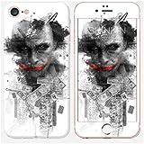Sticker iPhone 7 de chez Skinkin - Design original : Shadow Joker par Julien Kaltnecker