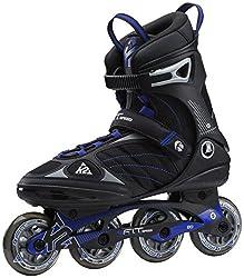 K2 F.I.T. Speed Herren Inline-Skates Inliner Black/Blue 3040700, Schuhgröße:44.5