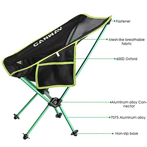 Zoom IMG-2 canway sedia pieghevole sedie da