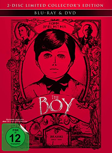 The Boy - Mediabook (+ DVD) [Blu-ray]