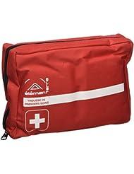 Elementerre DOCHOUSE - Kit de emergencia con múltiples utensilios y cierre con cremallera, color rojo, talla única