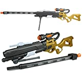 GYD XXL Gewehr COREv.2 Gold Sniper SCHTURMGEWEHR Elite mit Sound & Licht Storm Hydro Blaster ca. 85cm!! Mega Lichteffekte - Mega Sound und Schusssimulation!