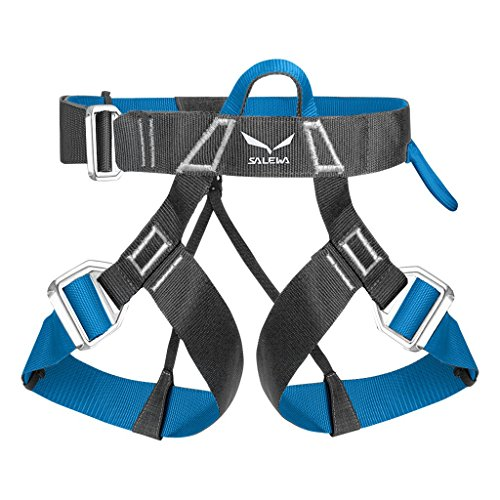 Salewa Via Ferrata Evo Imbrago, Unisex Adulto, Carbon/ Polar Blue, M/XXL