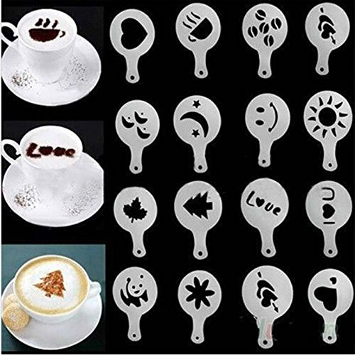 eqlefr-16pcs-lot-plastica-garland-mold-fancy-coffee-stampa-modello-spessa-caffe-schiuma-spray-templa