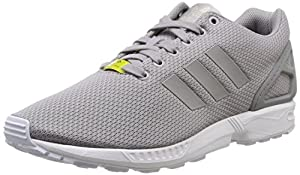 adidas Originals Zx Flux, Baskets mode homme,Gris (Aluminum/Aluminum/Running White), 44