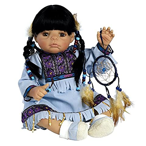 Paradise Galleries Great to Reborn Lifelike Realistic Soft Vinyl 51cm Baby Girl Doll Gift