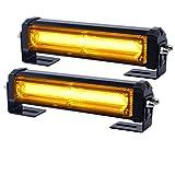 Mengonee Notfall Kühlergrill Licht Kopf Helle Linear LED Mini Strobe Lightbar Oberflächenmontage für Law Enforcement Vehicles