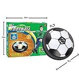 Vonpri Air Power Fussball Hover Disk Kinderspielzeug Indoor Fußball mit LED Beleuchtung