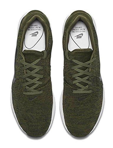nike hommes air max modern flyknit sneakers grau