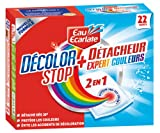 Eau Ecarlate - 831 - 2 en 1 Décolor Stop + Détacheur Etui de 22 Sachets de 30 g