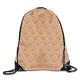 Dama Home Fata Bread 1 Coulisse Zaino Zaino Borse a spalla Sport Gym Bag Travel