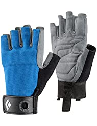 Black Diamond Crag Half Finger, Guanti Unisex-Adult, Blu, M