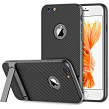 iPhone 6s Plus Funda, JETech Slim-Fit iPhone 6 Plus / 6s Plus Funda con Selfie Soporte para Apple iPhone 6 Plus 6s Plus 5.5 (Gris) - 3393