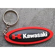 hotrodspirit–Puerta Llave moto Kawasaki Oval negro Torre rojo sprtive
