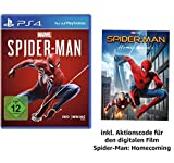 Image of Marvel's Spider Man - Standard Edition - [PlayStation 4] +  Spider-Man Homecoming Film