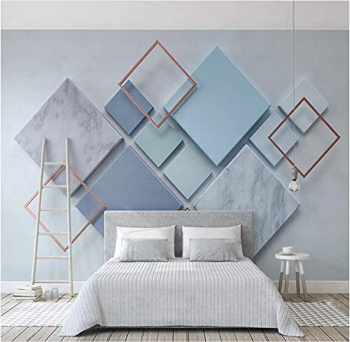 Schöne Marmor-mosaik-stein (Zlywj Foto 3D Wallpaper einfache geometrische Diamant marmor mosaik Wohnzimmer Sofa tv Hintergrund Mural vlies)