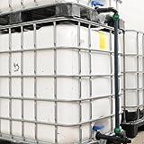 IBC-Tank Verbindungsset für 2 übereinander stehende 1000 Liter Tanks