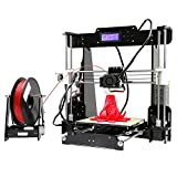 #7: High Precission Prusa I3 DIY 3D Printer Kit with Free 1 roll Filament and 8GB SD Card