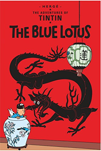 The Adventures of Tintin, Tome 5 : The Blue Lotus par Herge