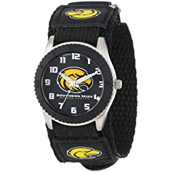 """Game Time Unisex COL-ROB-SMS """"Rookie Black"""" Watch - Southern Miss"""