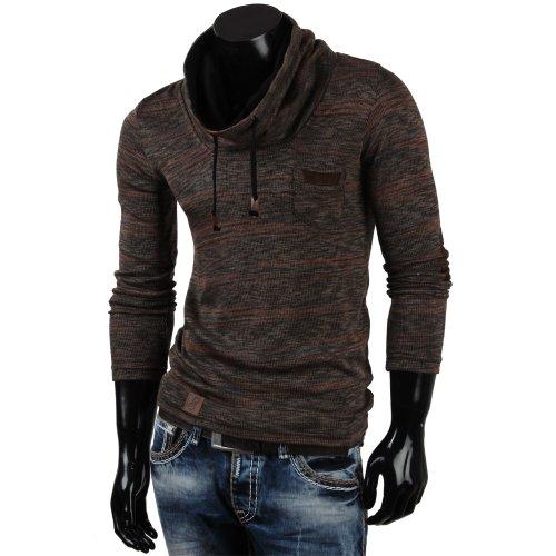 Emimay - Sweat-shirt à capuche - Homme Bison