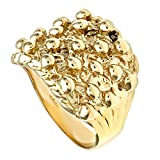 Citerna 9 ct Yellow Gold Men's Keeper Ring - Size M