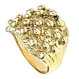 Citerna 9 ct Yellow Gold Men's Keeper Ring - Size U