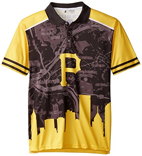 Forever Collectibles MLB Thematische Polo Shirt XL Pittsburgh Pirates