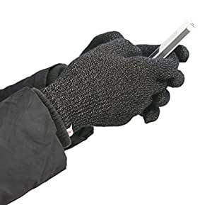 Agloves Polar Sport Touchscreen Gloves for iPhones, Androids, iPads, Evos - Frustration-Free Packaging - Black - S/M