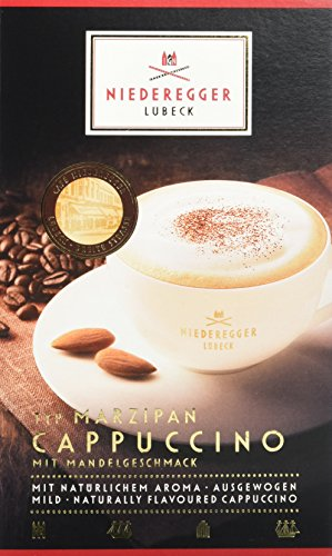 Niederegger Marzipan-Cappuccino, 10 Portionsbeutel, 8er Pack (8 x 220 g)