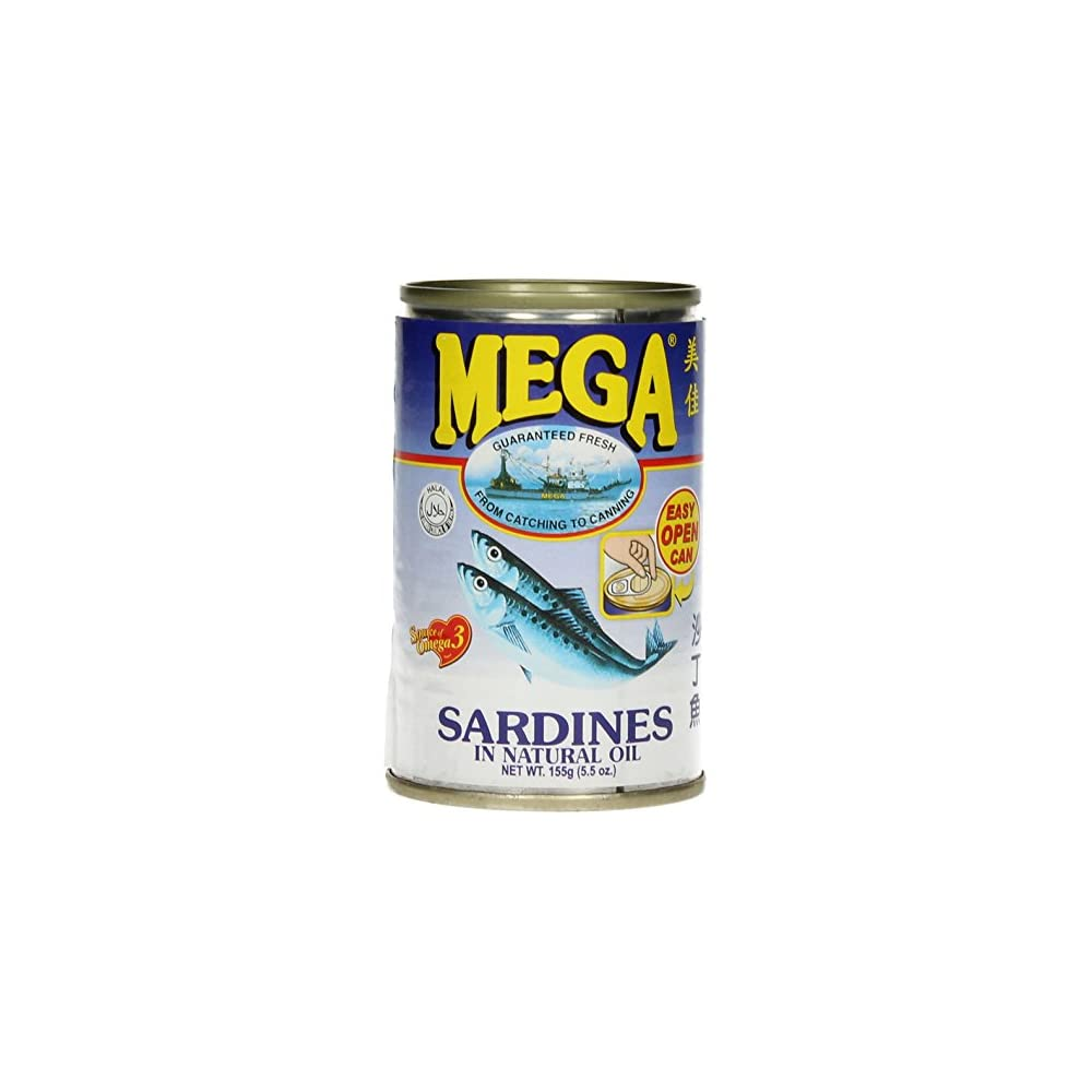 Mega Sardinen In Sojal 24er Pack 24 X 155 G