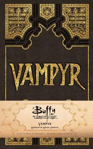 Buffy the Vampire Slayer: Vampyr Hardcover Ruled Journal (Insights Journals) por Insight Editions