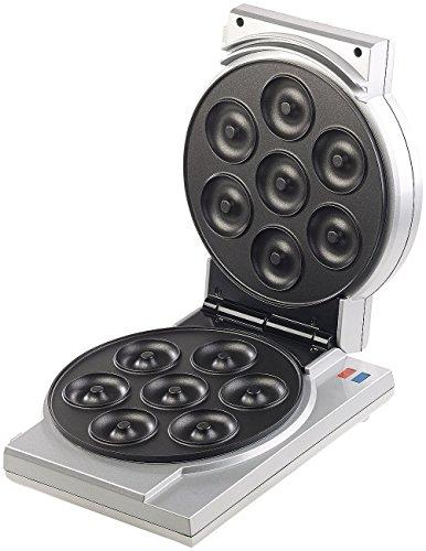 Rosenstein & Söhne Cake Pop Maker: 3in1-Donut-, Cupcake- und Cakepop-Maker, antihaftbeschichtet, 850 W (Waffeleisen)