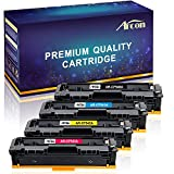 Arcon Kompatibel für HP 203A 203X CF540X CF540A CF541A CF542A CF543A für HP Laserjet Pro M254 M254DW M254DN M254NW;HP Color Laserjet Pro MFP M281FDW MFP M281FDN MFP M281CDW MFP M281 MFP M280NW M280
