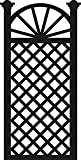 Marianne Design Fustelle Craftables Cutting Die Graticcio per Fiori, Metal, Grey, 16x11.5x3 cm