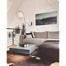 Massiver Beton Couchtisch Schwebend Und Rollbar Bu0026K Design  Wohnzimmertisch/Beistelltisch/Sofatisch/Betonmöbel/