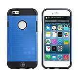 iPhone 6S Schutzhülle, iPhone 6Fällen von Kabel und Fall–Für die iPhone 6und iphone6s [Rutschfest] [Heavy Duty] [die passgenauen] Sorgen iPhone 6(4,7) Armor Schutzhülle Slim, Blau