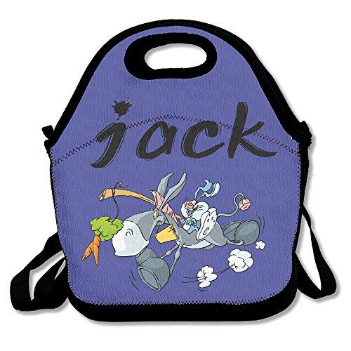 Pinypony Jack Ass Jackass Esel Lunchtasche Lunch Tote (Große Vinyl-laptop-tasche)