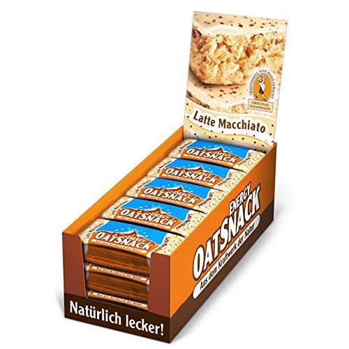 Davina Energy OatSnack, Müsli Riegel von Hand gemacht, Latte Macchiato, 30 x 65 g, 1er Pack (1 x 1.95 kg)