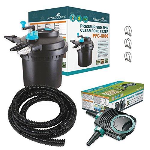 pfc-8000-koi-fish-pond-pressurised-pond-filter-all-in-one-aquaeco-4500-pump-11w-uv-steriliser-hose-c