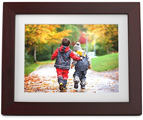Ever Frames da 8 pollici (20.23 cm) - Cornice digitale ad alta risoluzione con 16 GB di memoria
