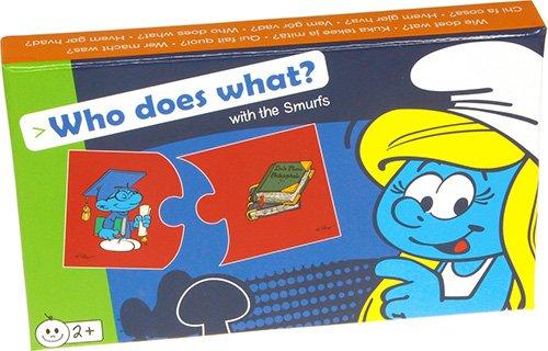 Smurfen: Wie doet wat? Smurf Spiele