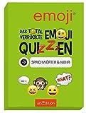 Das total verrückte emoji-Quizzen - Sprichwörter & mehr