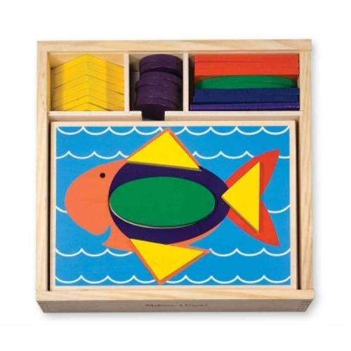 Beginner Pattern Blocks (Beginning Skills and Activities) - Pattern-blocks