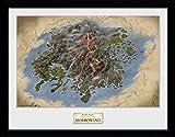 GB eye Ltd Elder Scrolls Online morrowind, Map Kunstdruck, gerahmt, 30x 40cm, verschiedene