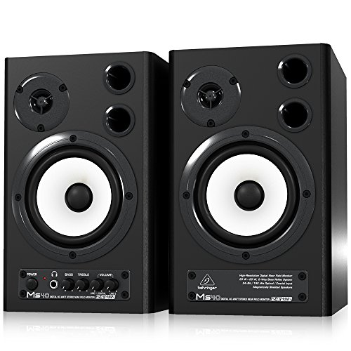 Behringer-MS40-Monitor-Speakers-Paar