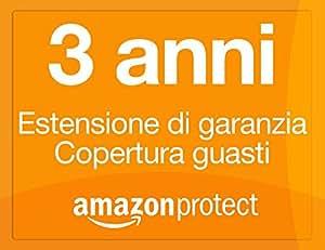 Amazon Protect estensione di garanzia 3 anni copertura guasti per attrezzatura per l'ufficio da 100,00 EUR a 149,99 EUR
